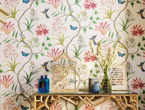 Pazia - Papier peint fleuri