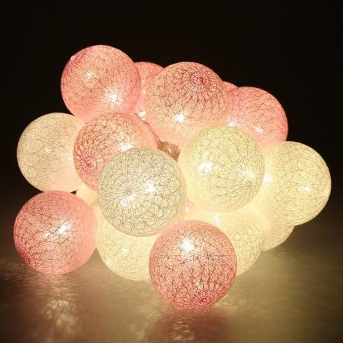 Finether - Guirlande lumineuse boules