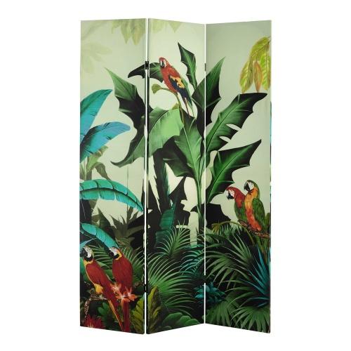 Paravent imprimé tropical
