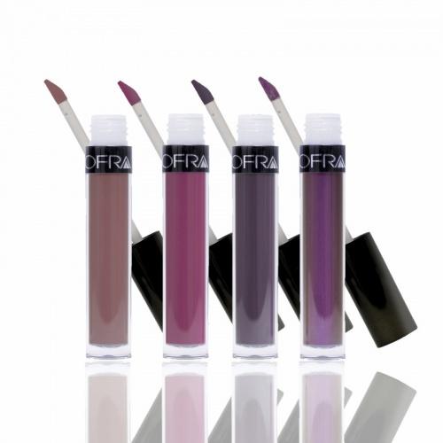 Kit de 4 rouges à lèvres liquides