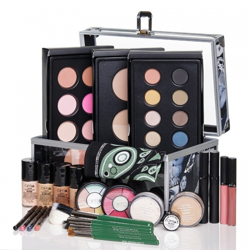 Kit complet de maquillage