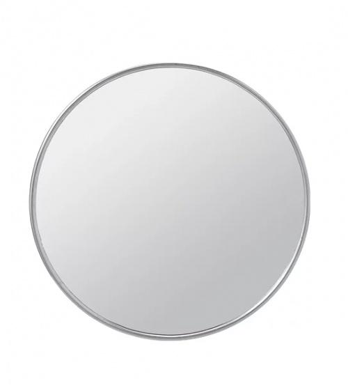 miroir à ventouse Ce miroir en acier inoxydable peut se fixer grâce aux ventouses fournies. plus d'info