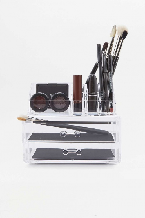 Rangement à tiroirs pour maquillage
