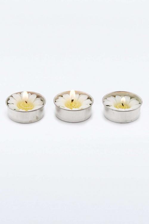ougies chauffe-plat marguerites