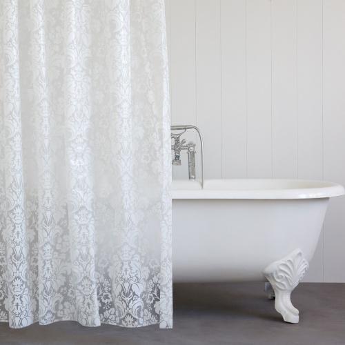 Zara Home - Rideau de douche damas