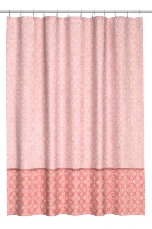 H&M Home - Rideau de douche rose