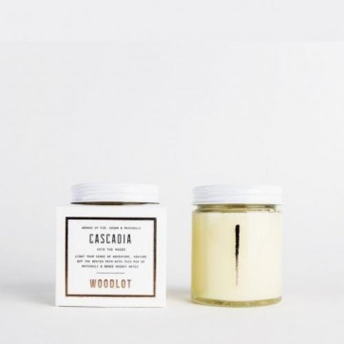 Woodlot - Bougie parfumée boisée