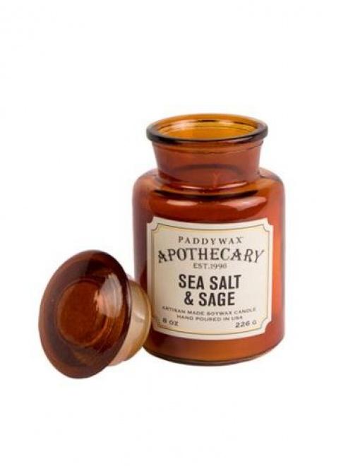 Paddywax - Bougie parfumée sel de mer et sauge