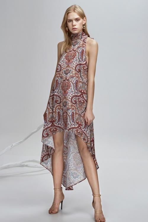 Finders - Robe asymétrique
