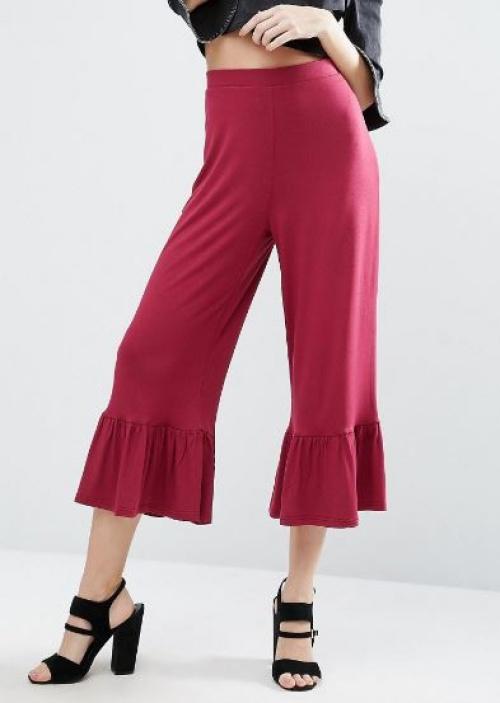 Asos - Pantalon volanté