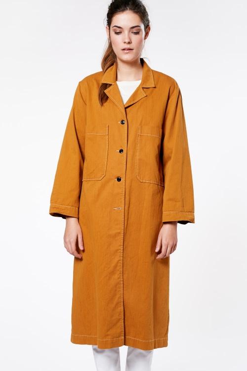 Bellerose - Manteau moutarde