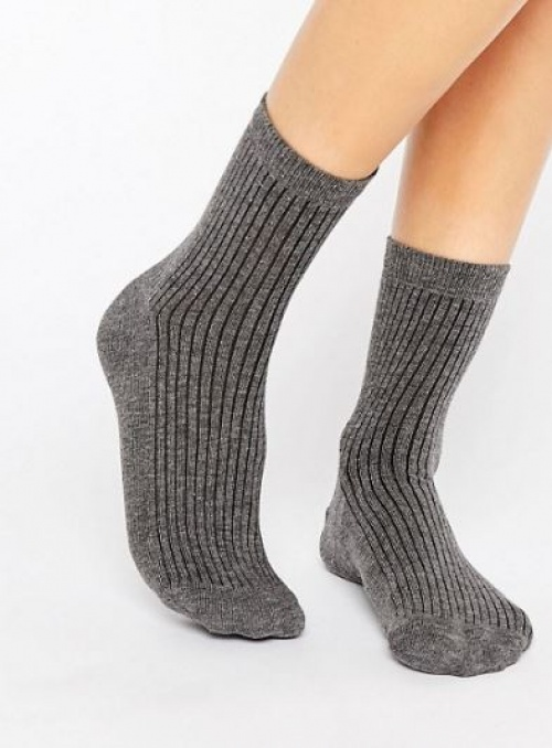 Asos - Socquettes côtelées