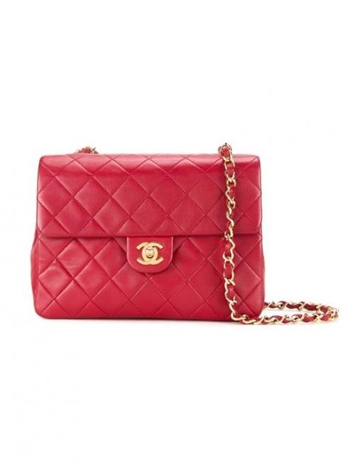 Chanel Vintage - Sac matelassé rouge