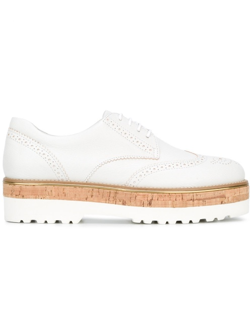 HOGAN  chaussures à plateforme