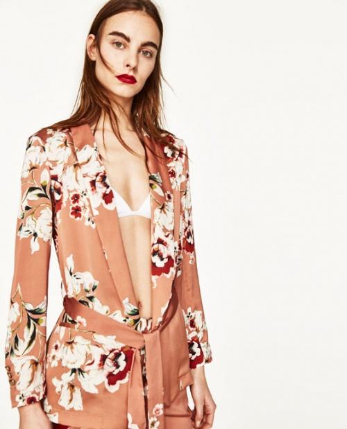 Zara - Kimono fleuri