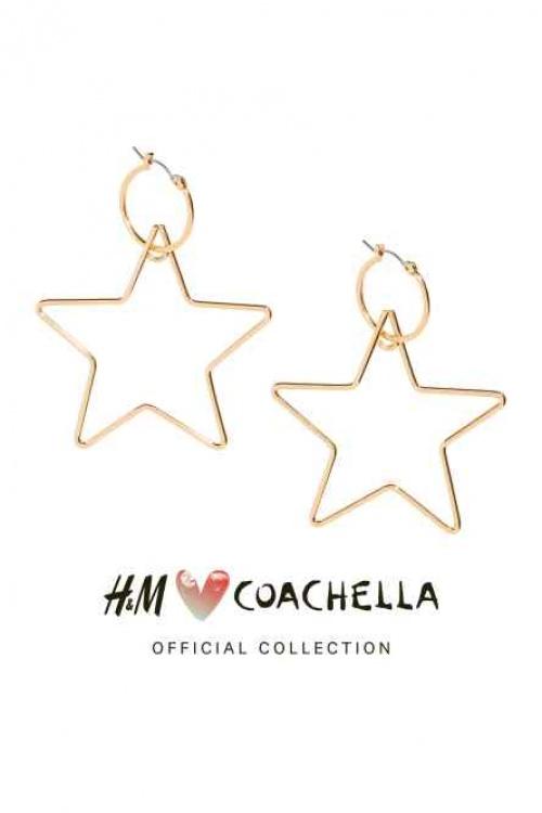 H&M Loves Coachella - Boucles d'oreilles