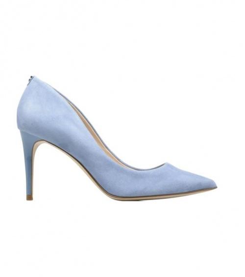 Guess - Escarpins bleu ciel