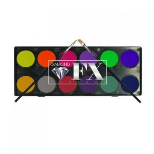 Diamond FX - Palette de fards à paupières néon