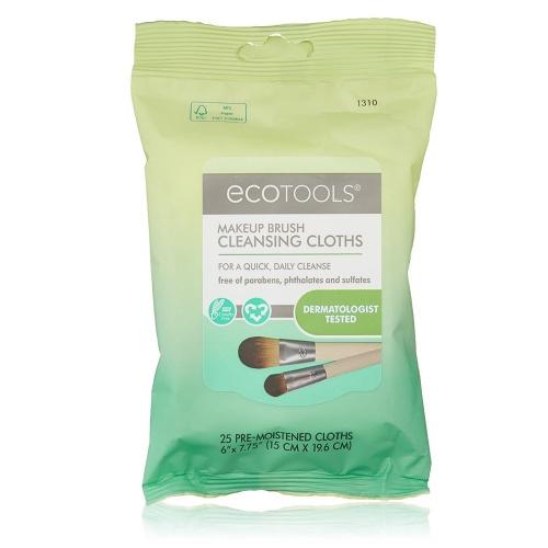 Lingettes nettoyantes pour pinceaux - Ecotools