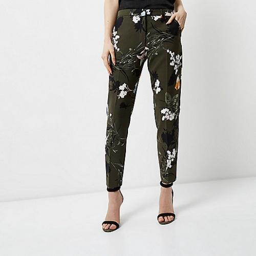 River Island - Pantalon fleuri