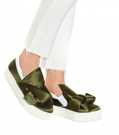 N°21 - Slip-on en satin