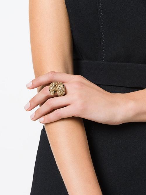 ROBERTO CAVALLI  bague à design de serpent