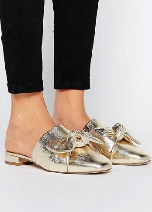 Asos - Mules dorées