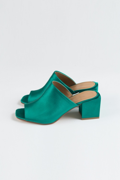 Front Row Shop - Mules satin