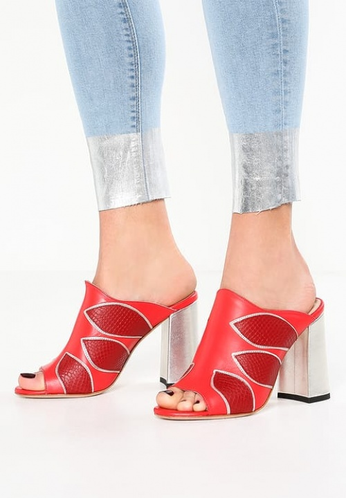 Pinko - Mules rouges