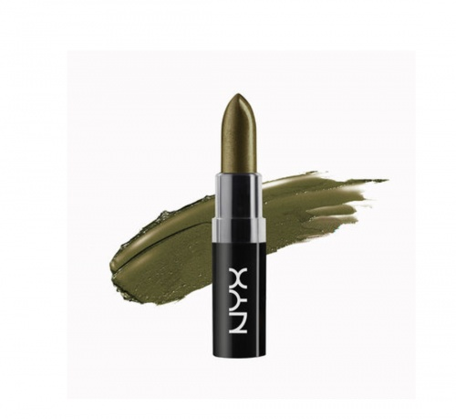 Rouge à lèvres vert Nyx Cosmetics