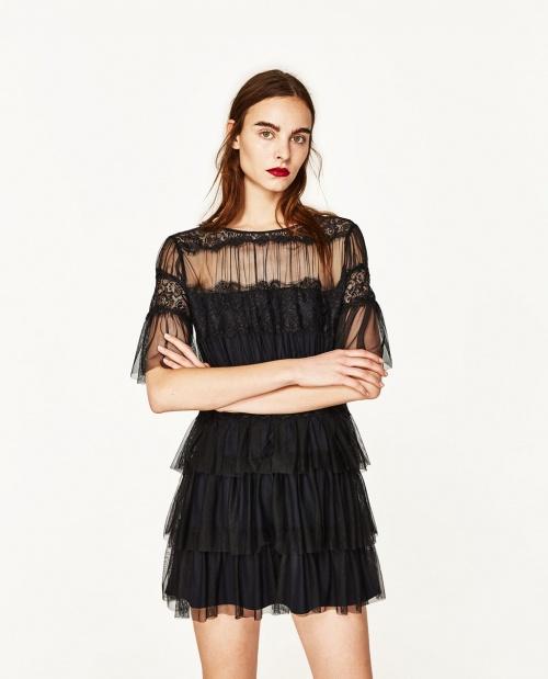 Zara - Robe dentelle