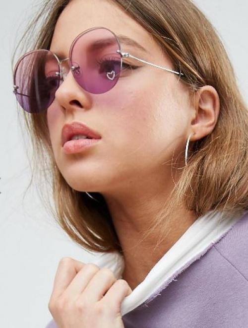 Asos - Lunettes de soleil violettes
