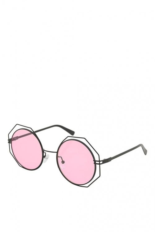 Topshop - Lunettes de soleil roses