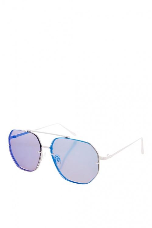 Topshop - Lunettes de soleil bleues
