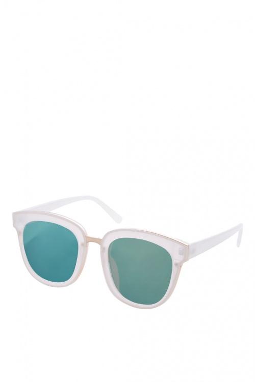 Topshop - Lunettes de soleil vertes