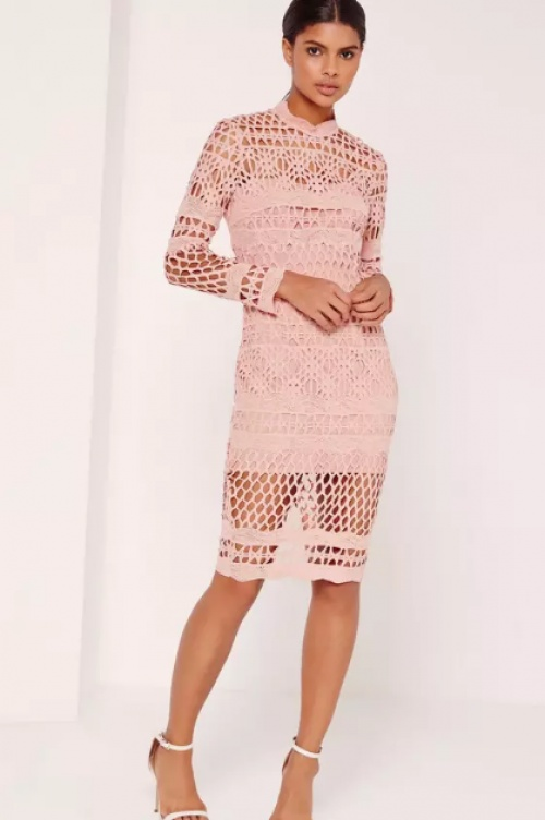 Missguided - Robe en dentelle