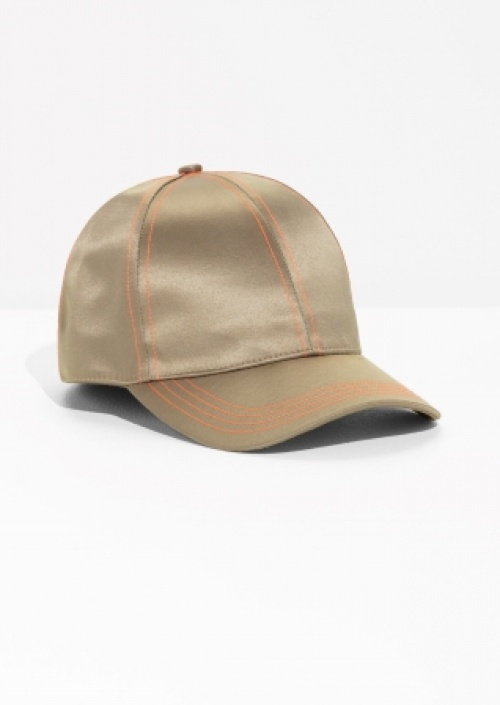& Other Stories - Casquette satin