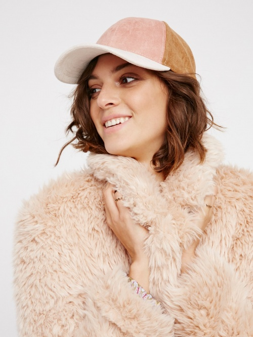 Free People - Casquette patchwork