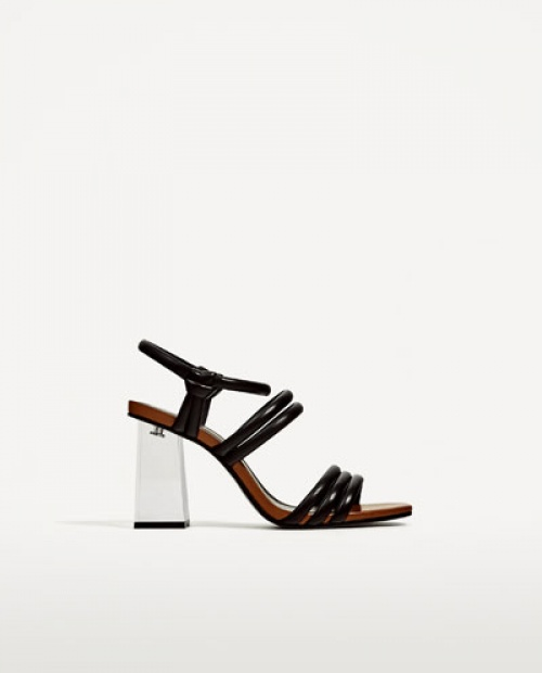 Zara - Sandales plexi