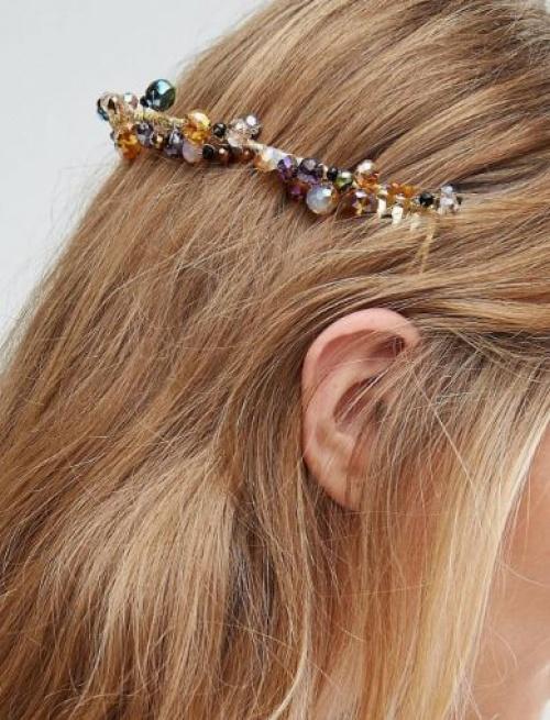 Asos - Bandeau à perles