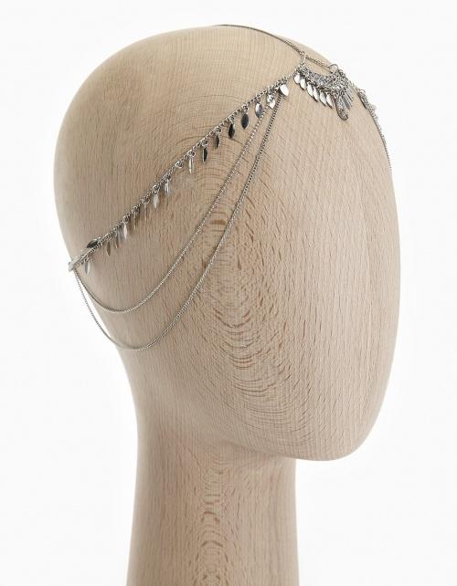 Stradivarius - Headband chaine