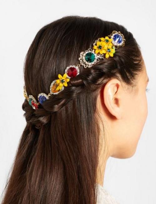 Dolce & Gabbana - Couronne bijoux