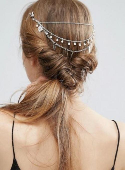 Asos - Barrette avec perles pour grandes occasions