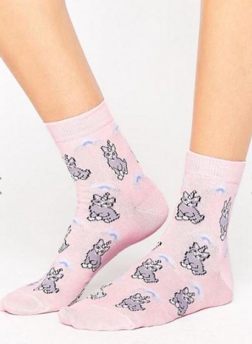 Asos - Chaussettes chats licornes
