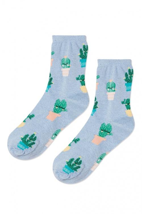 Topshop - Chaussettes cactus