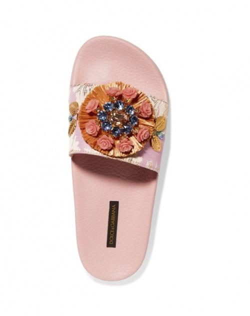 Dolce & Gabbana - Claquettes ornées