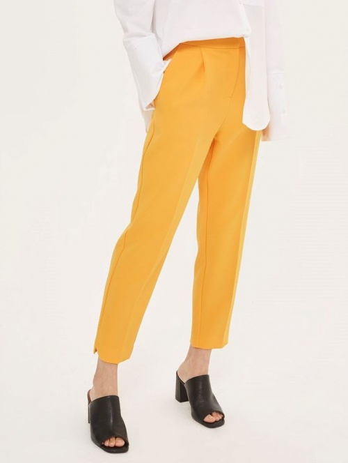 Topshop - Pantalon moutarde