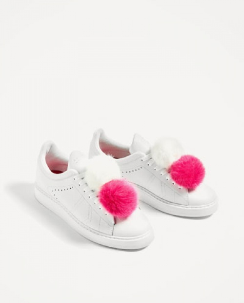 Zara - Baskets pompons
