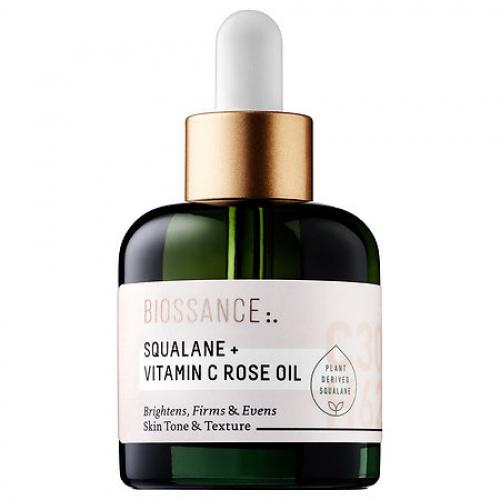 Perfecteur de peau Squalane + Vitamin C Rose Oil - Biossance