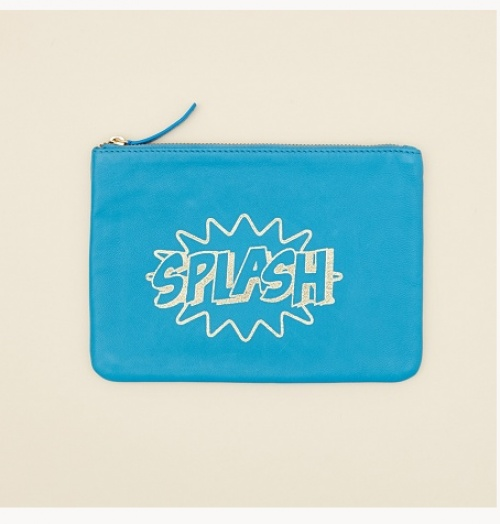 bleu + splash